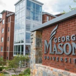 Fais tes études supérieures à George Mason University aux États-Unis.